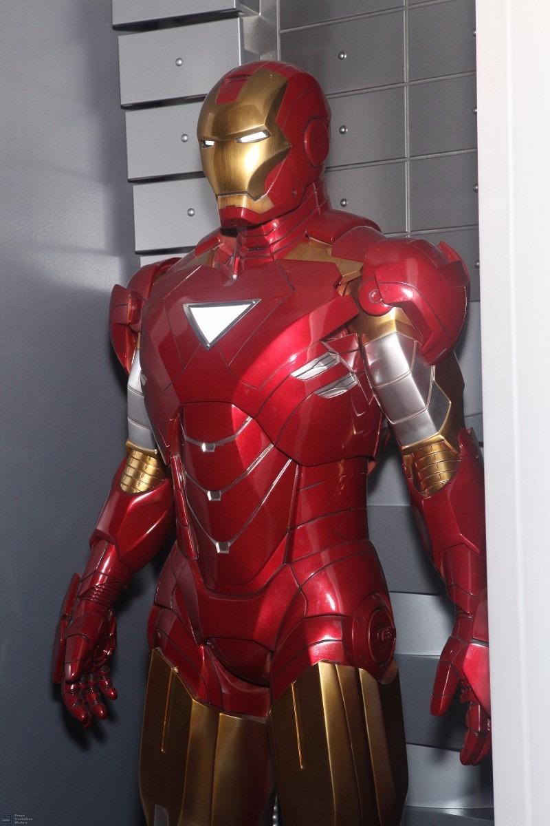 Armadura Iron Man Mark Vi Em Papercraft - R$ 20,00 em ...