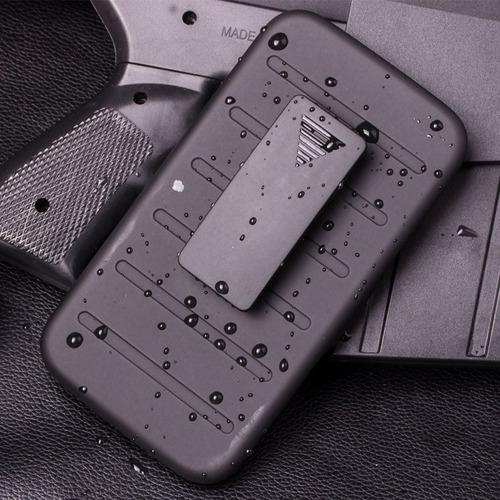 armadura militar polímero - celular s7