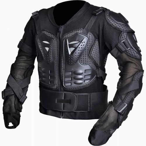 armadura reforzada abs para moto/ bici - body armor