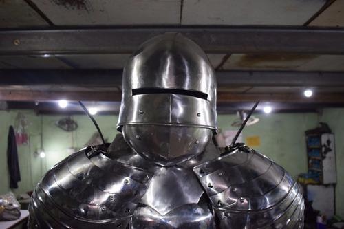 armadura replica exacta de antigua pavonada detalles exactos