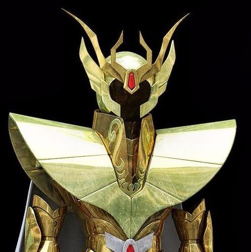 armadura virgem dos cavaleiros do zodíaco em pepakura.