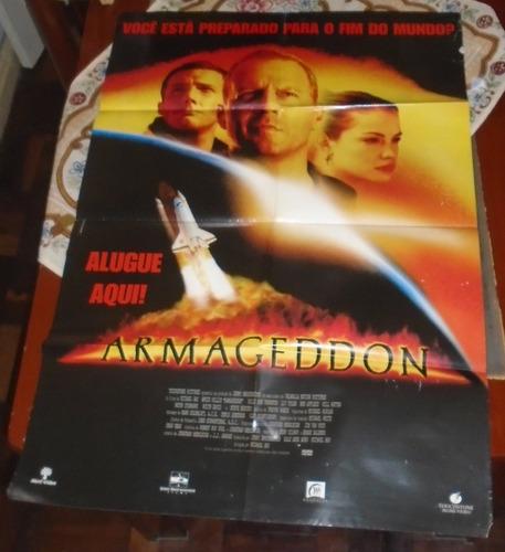 armagedom filme poster gigante original 1998 liv tyler