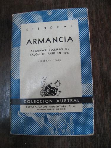 armancia. stendhal