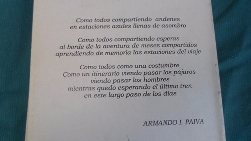 armando i. paiva - andenes -  impecable