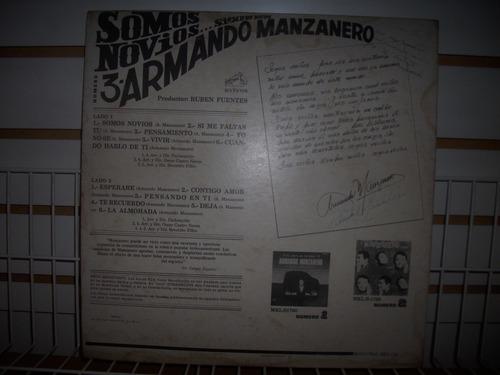 armando manzanero - somos novios vol 3 lp vinil ed 1968