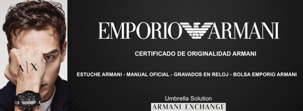 b0b67c07cb2b Reloj Hombre Armani Ar5905 Certificado Armani + 12 Cuotas -   12.499 ...