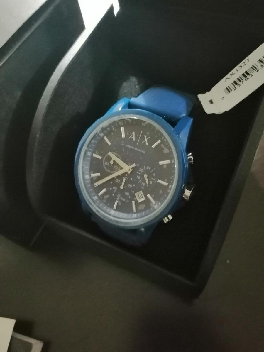 aecf53d93 Armani Azul Ax1327 - $ 1,900.00 en Mercado Libre