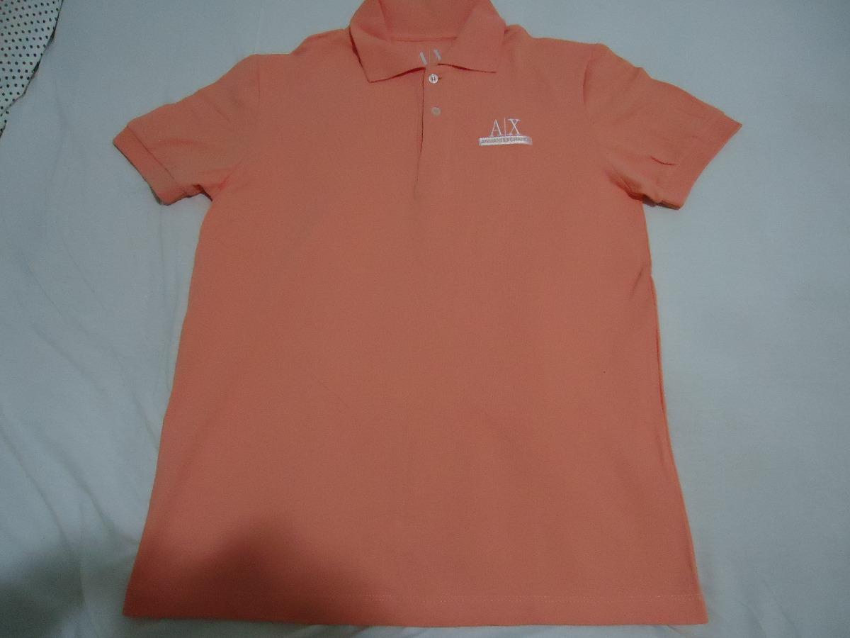 8c8805461a armani - camisa pólo armani exchange - nova - original. Carregando zoom.