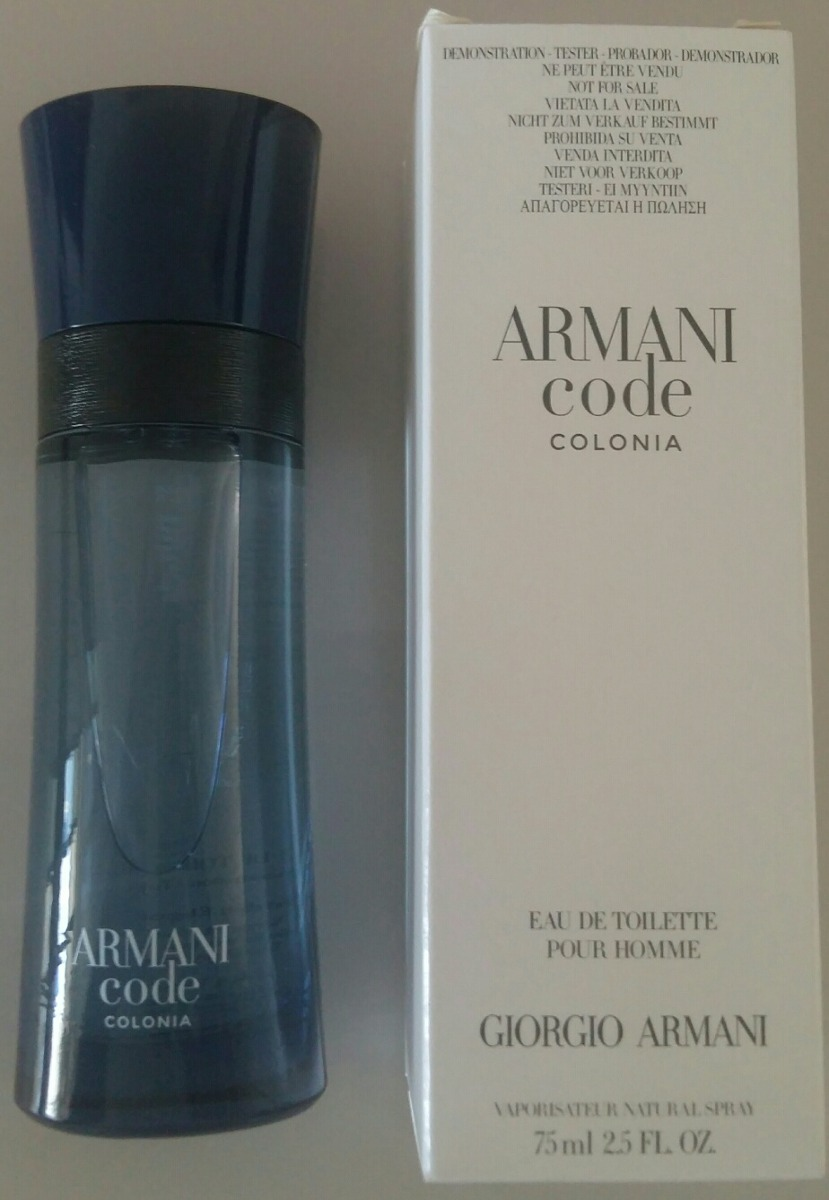 e0ea2ea17 Características. Marca Giorgio Armani; Nome do perfume Armani Code; Gênero  Masculino; Tipo Eau de toilette ...
