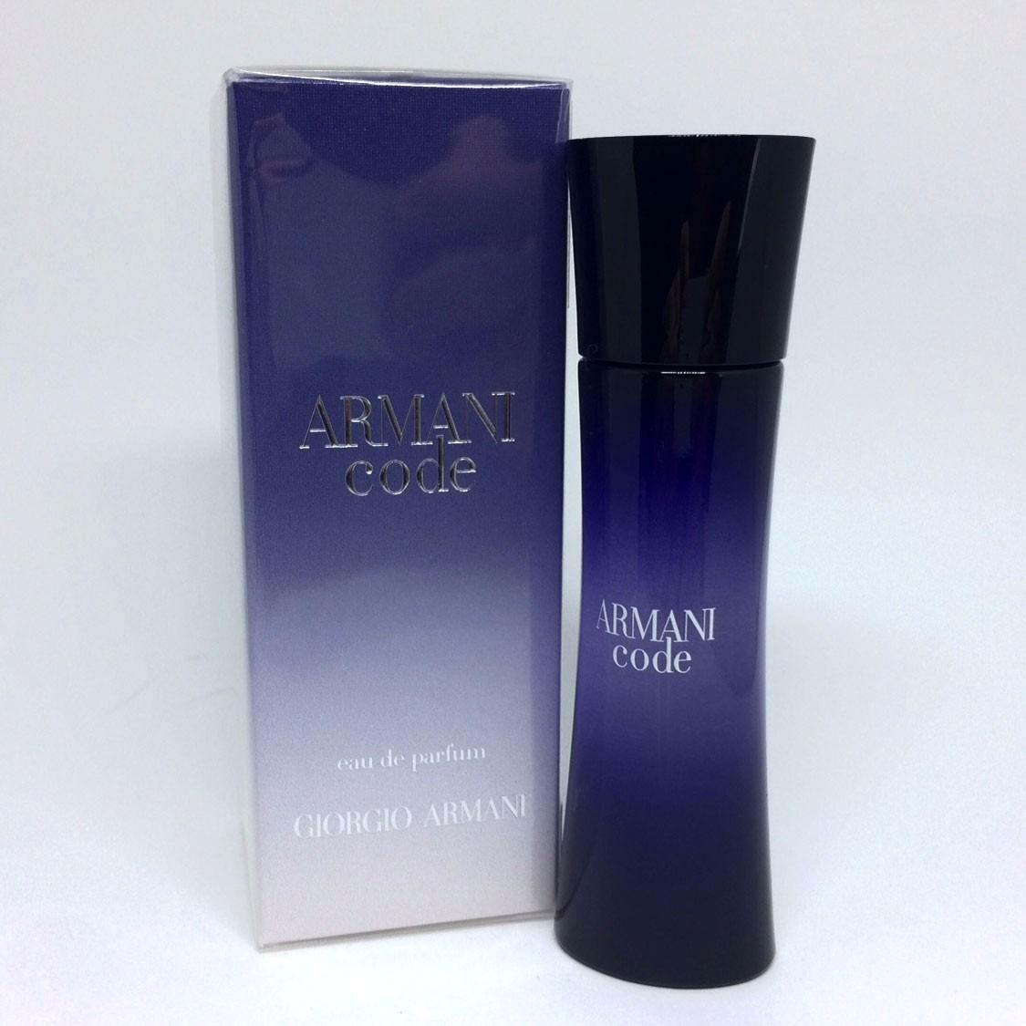 armani code eau de parfum 30ml feminino original e. Black Bedroom Furniture Sets. Home Design Ideas