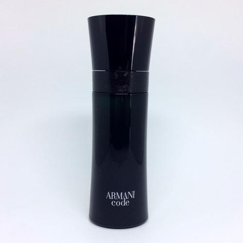 armani code pour homme 75ml masculino + amostra de brinde