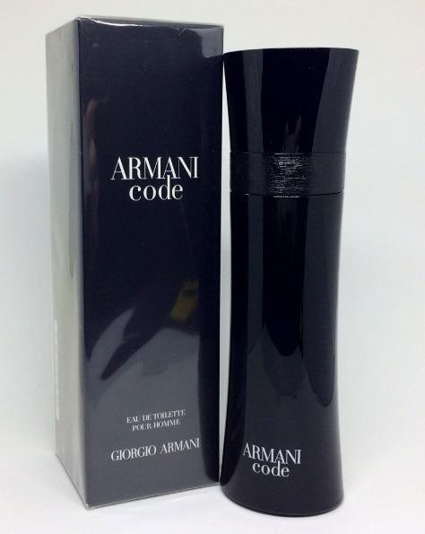 879db1dfd Armani Code Pour Homme Edt 125ml   Original + Amostra - R  310