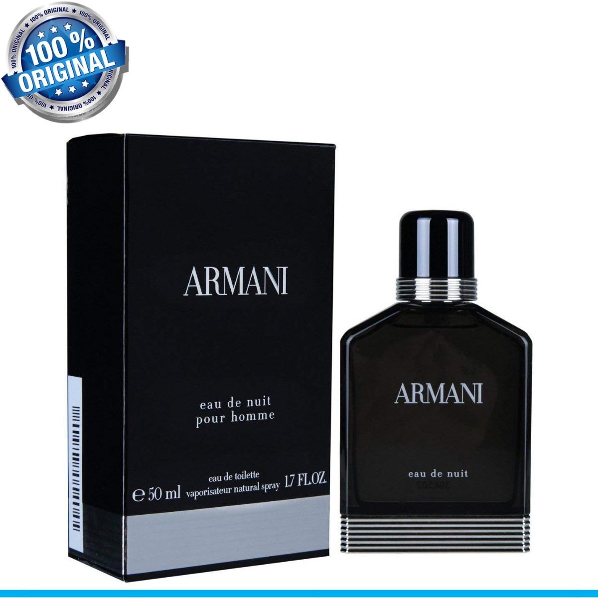 10c50e7b9 Armani Eau De Nuit Giorgio Armani - Eau De Toilette 100ml - R$ 542 ...