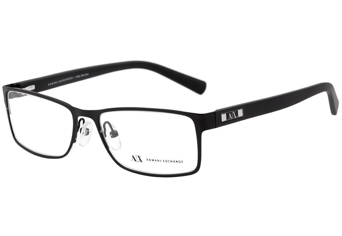 eeca8de91ff0f armani exchange ax 1003 l - óculos de grau 6014 preto fosco. Carregando  zoom.