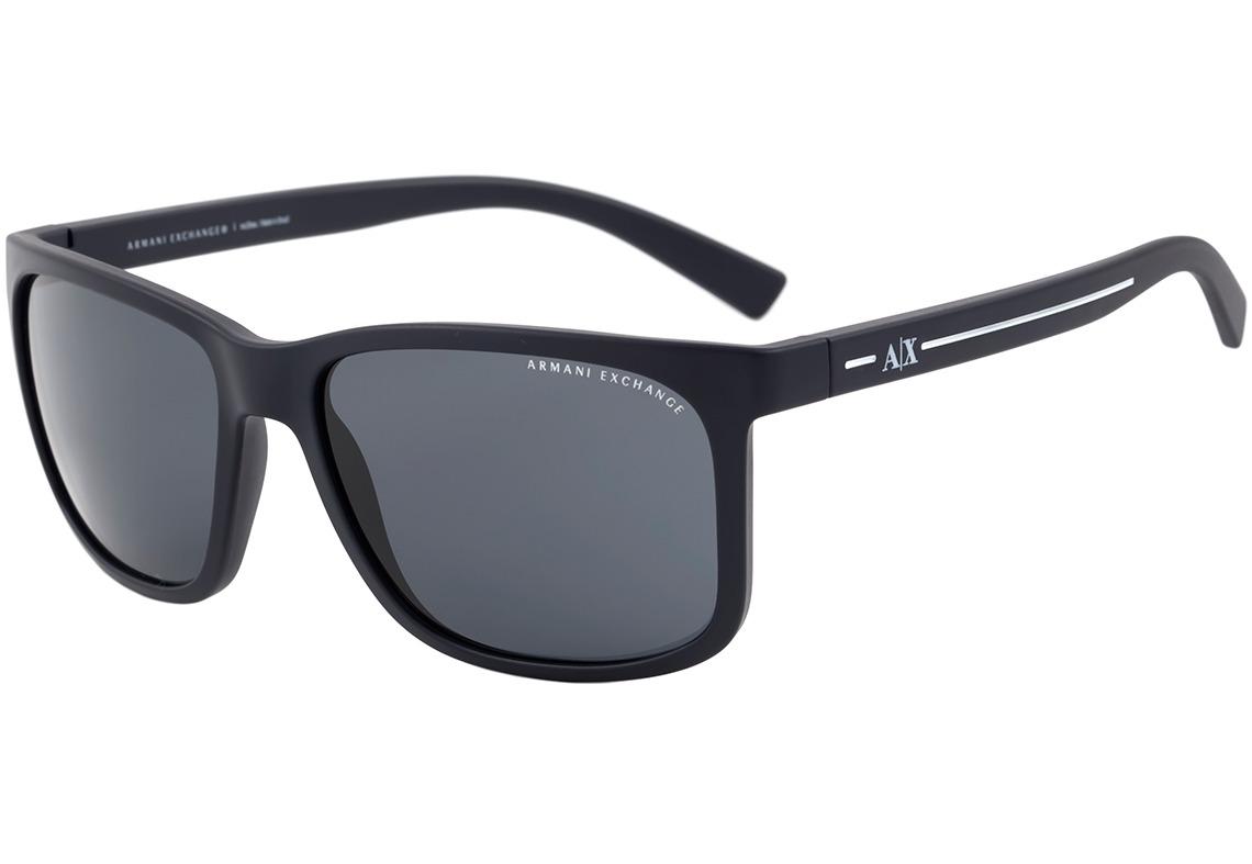 47bee18065fe0 Armani Exchange Ax 4041 S - Óculos De Sol 8157 87 Azul - R  279