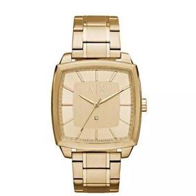 25bd9575f171 Reloj Armani Cuadrado - Reloj para de Hombre en Mercado Libre México