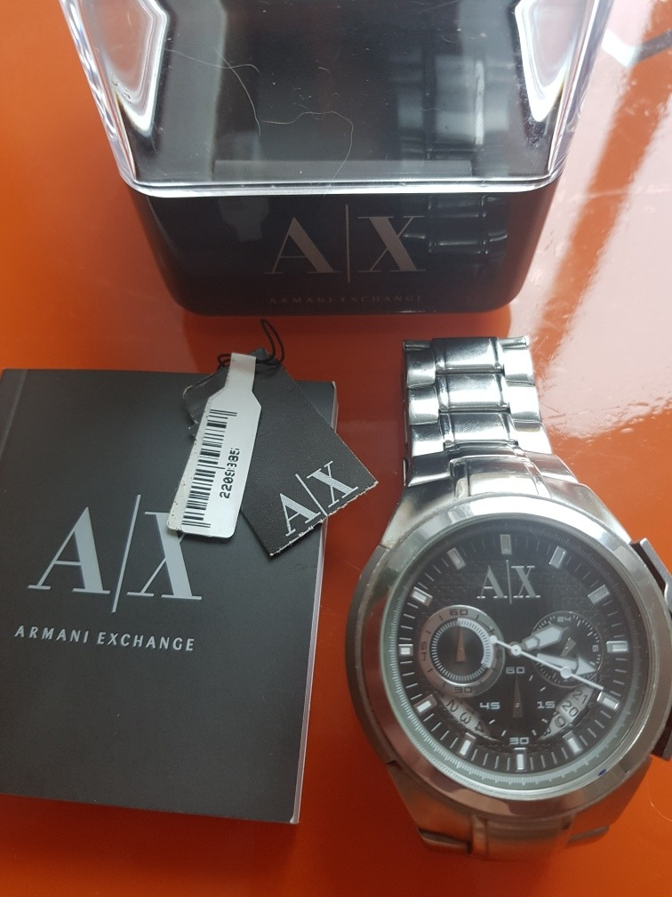 453284e6840 armani exchange relógio. Carregando zoom.