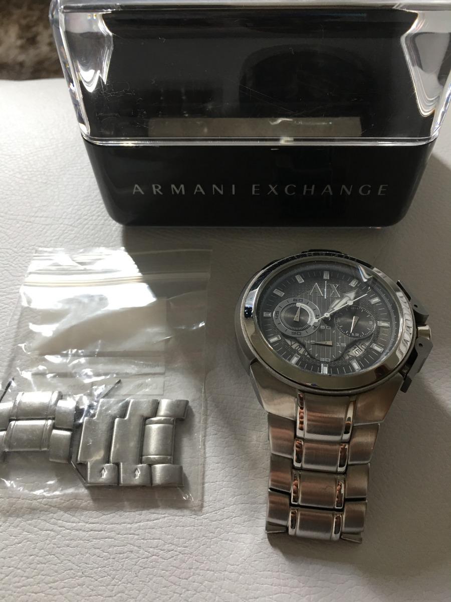 Relógio Armani Exchange Prata Ax 1039 - 100% Original - R  330,00 em ... 816a773083