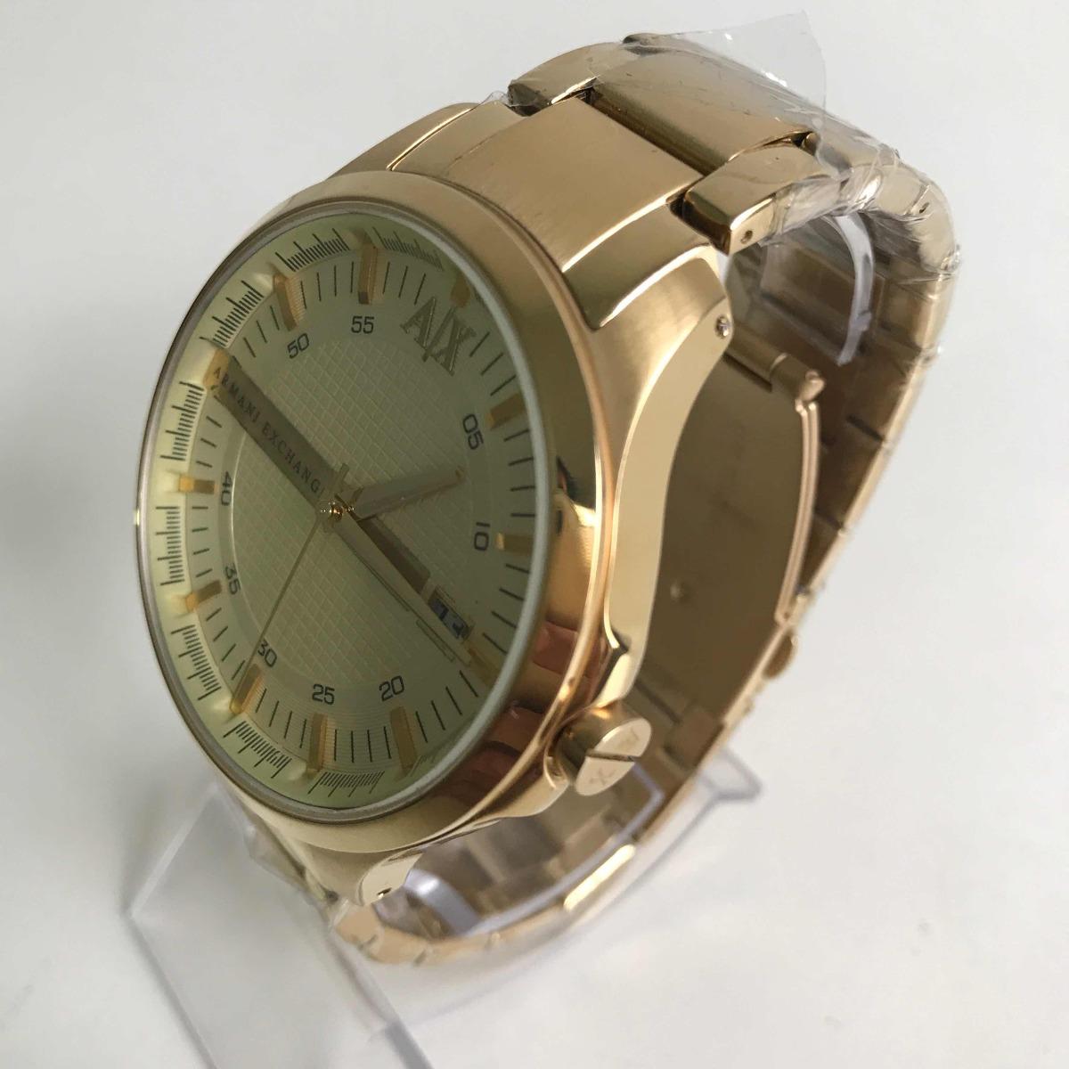 f432c1896b1 Relógio Armani Exchange Ax-2131 Dourado. - R  599