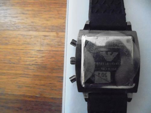 armani exclusivo reloj