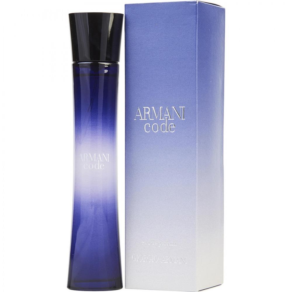 5cf91b506 Características. Marca Giorgio Armani  Nome do perfume Armani Code  Gênero  Feminino ...