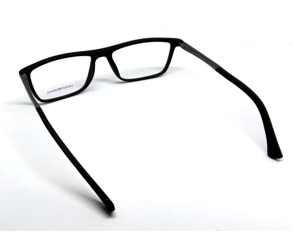 36e63c945959c Carregando zoom... armação armani emporio oculos p  grau ea6043 - acetato
