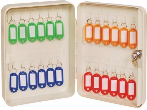 armario 24 llaveros cofre ordenador organizador porta llaves