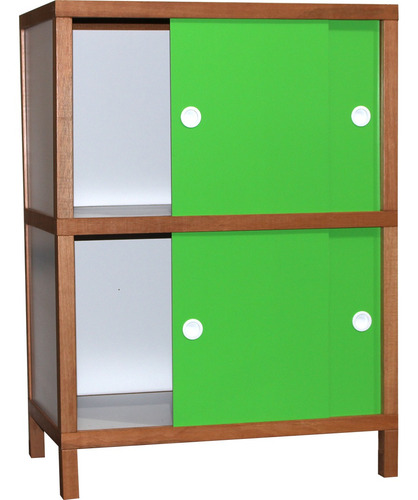 armário 4 portas-verde