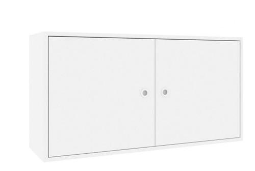 armário aéreo art in móveis sun ae2080 branco