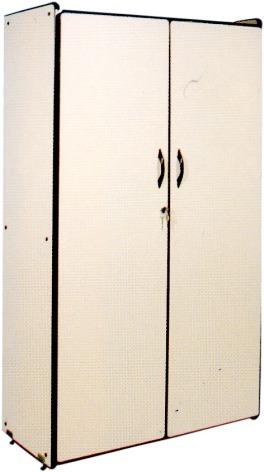 armário alto 2 portas com chave madeira mdf escritorio