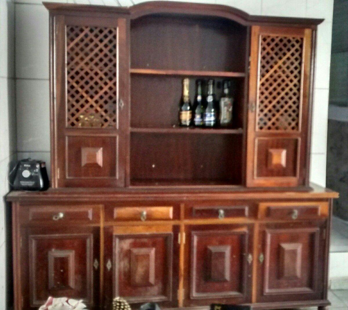 Armário Antigo De Madeira R$ 2.000 00 em Mercado Livre #975B34 1200x1069