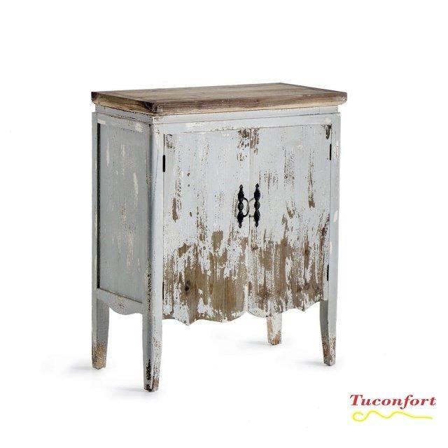 Armario Aparador Bajo Madera Vintage Muebles Envio Gratis - $ 10.890 ...