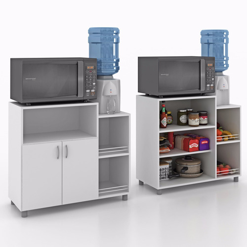 armário balcão fruteira para microondas - frete grátis!!!