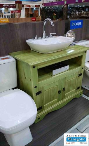 Armario Banheiro; Banheiro;moveis Para Banheiro;madeira  R$ 389,00 em Mercad -> Armario De Banheiro Mercado