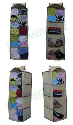 armário cabide 5 prateleiras organizador gaveta guarda roupa