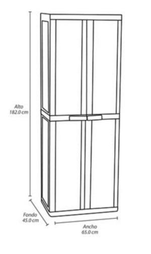 Artesanato Em Origami Passo A Passo ~ Armario Closet Rimax Multiuso 2 Puertas 45x65x182 Cm Blanco $ 469 900 en Mercado Libre