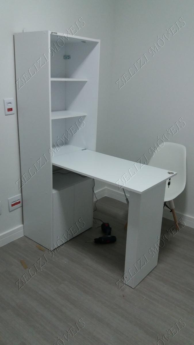 d76293e3b armário com mesa dobrável goiás branco politorno. Carregando zoom.