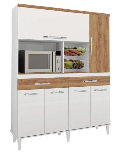 armário cozinha completa barata com fruteira luxo promoção