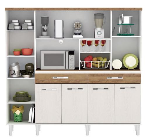 armário cozinha completa barata com fruteira marisa promoção