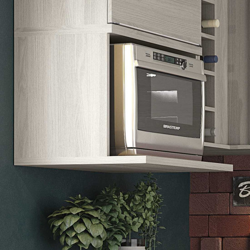armário cozinha kappesberg versatti c670 aéreo fornos 60cm