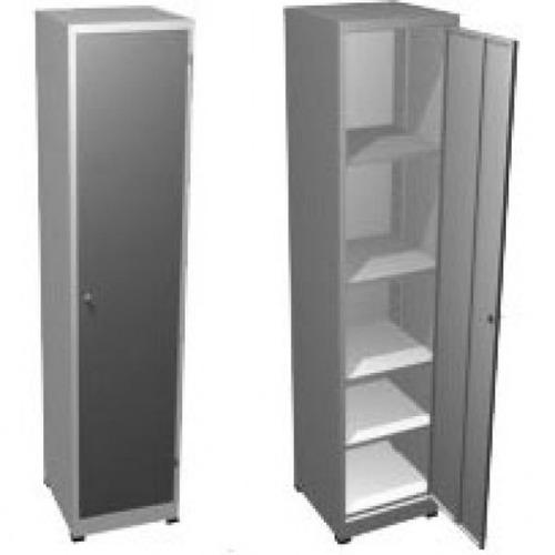 armário de aço (novo) pa-45 com 04 prateleiras 198x45x40