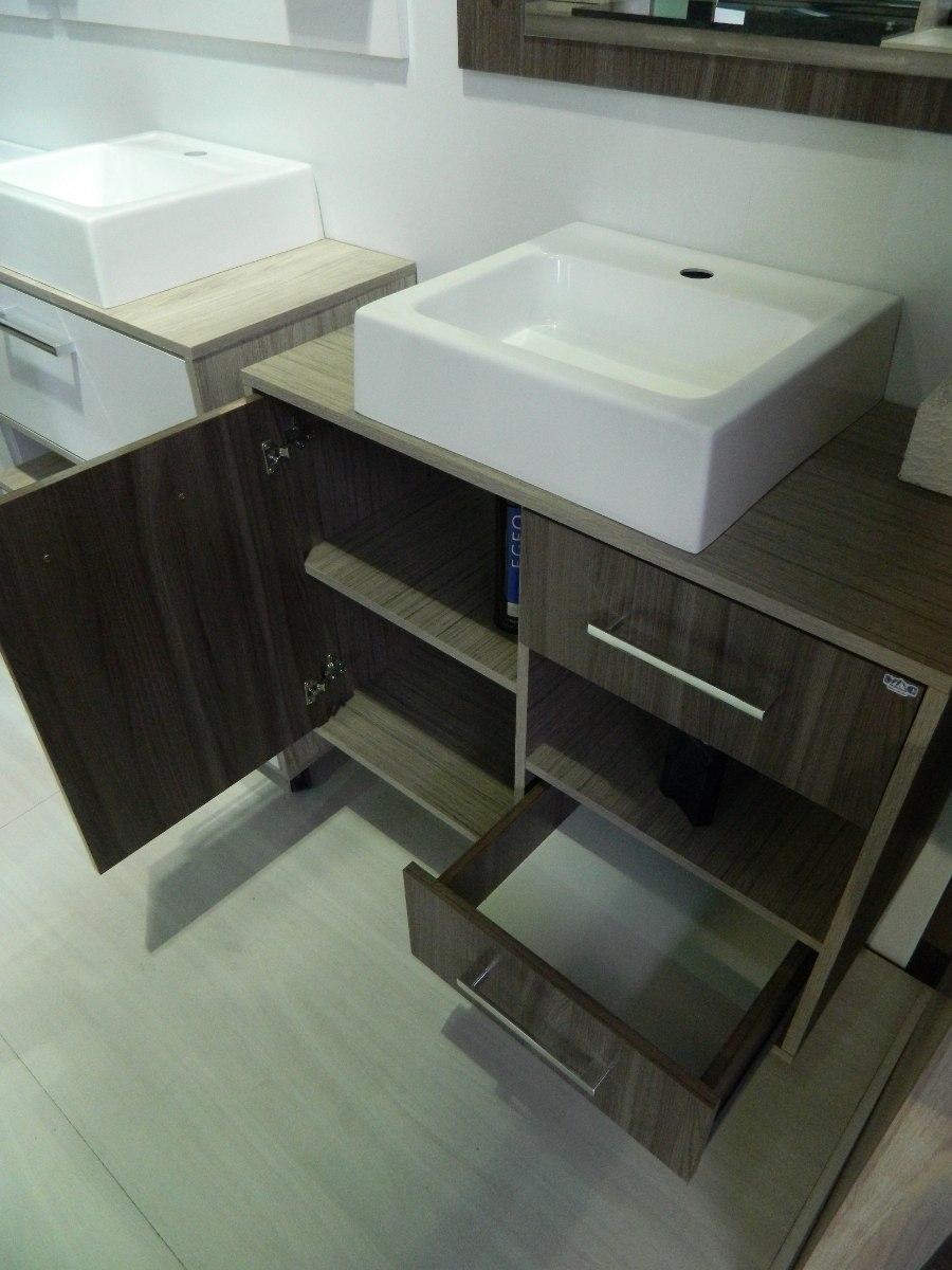Armário De Banheiro Com Cuba Novo Lindo! Modelo Personal  R$ 499,00 em Merca -> Armario De Banheiro Com Cuba Mercado Livre