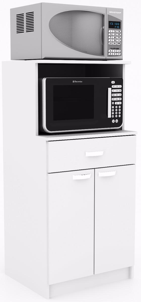 Armario de cocina para horno y microondas alacena for Mueble para encastrar horno y encimera