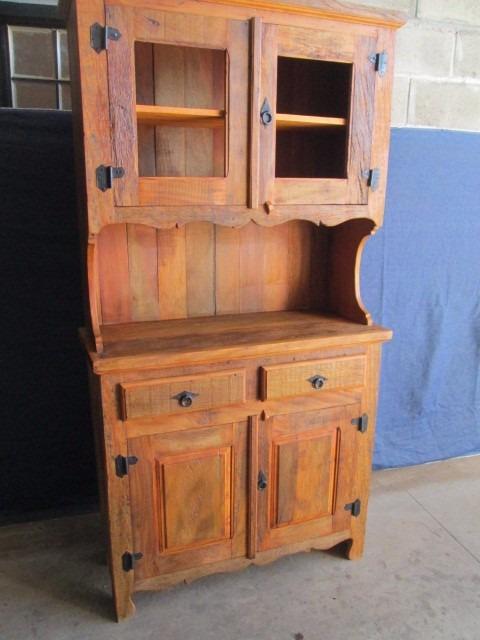 Armario De Sala De Jantar Antigo : Wibamp armario de cozinha antigo madeira usado
