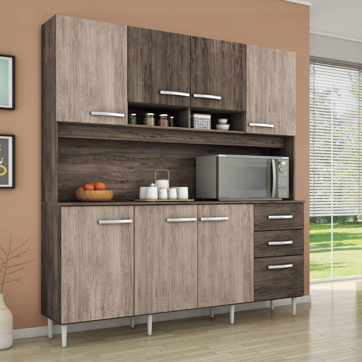 Arm Rio De Cozinha 8 Portas 2 Gavetas Sofia M Veis Dfwt R 479 90