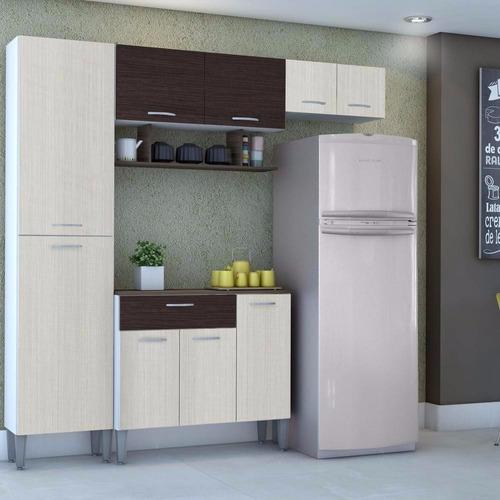 armario de cozinha cris - kits paraná