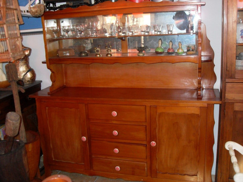 armario de cozinha maciça antigo lindo (only wood)