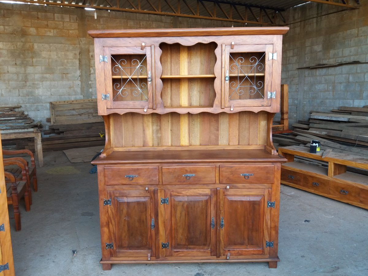 Armarios Para Jardin Ikea ~ Armario De Cozinha Madeira Rustica R$ 2 100,00 em Mercado Livre