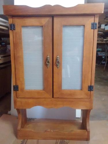 armário de cozinha rústico