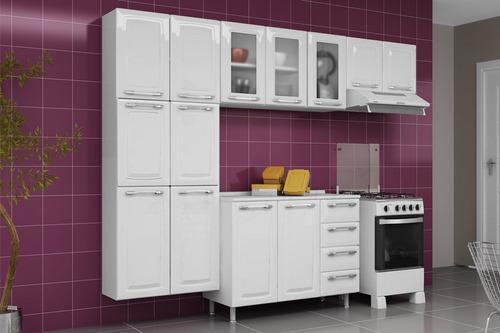 armário de geladeira itatiaia criativa ipg2-70 cor branco
